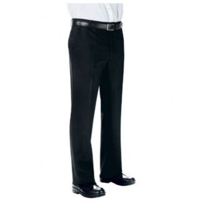 Pantalone uomo senza pinces Super Fresh, nero