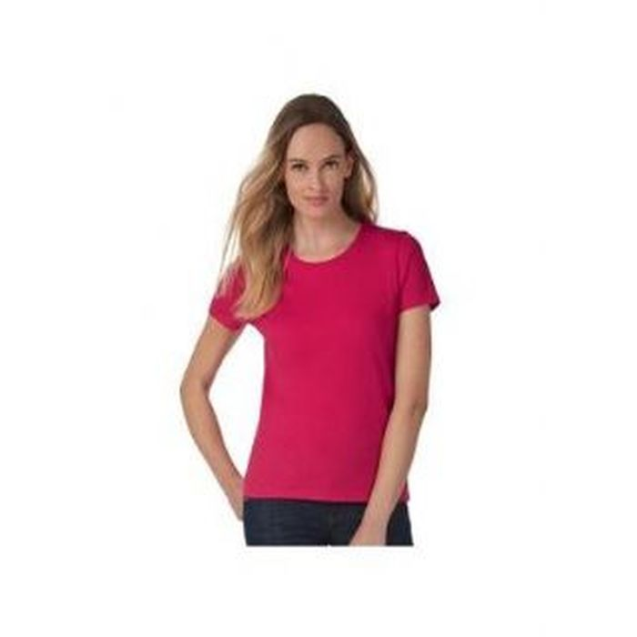 T-shirt donna,women-only,vari colori, manica corta, B&C
