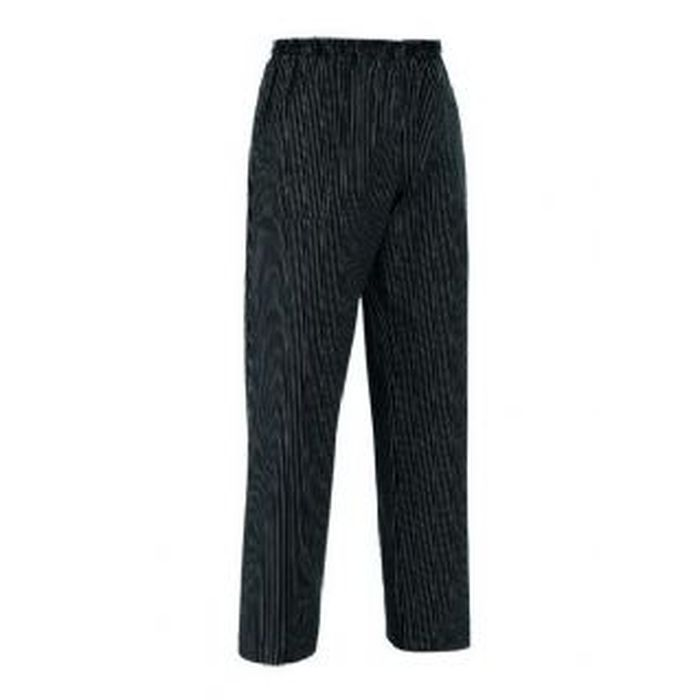 Pantalone coulisse tasca a toppa, gessato