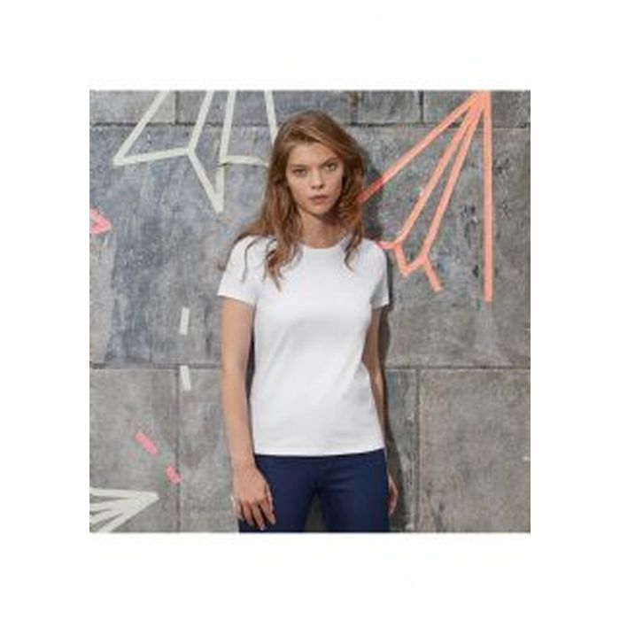 T-shirt donna,women-only,Bianca, manica corta, B&C