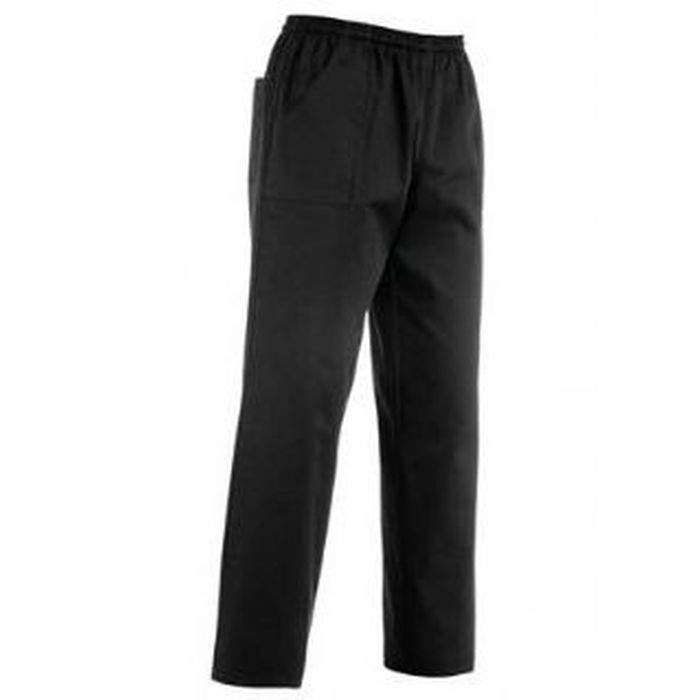 Pantalone coulisse tasca a toppa,Nero
