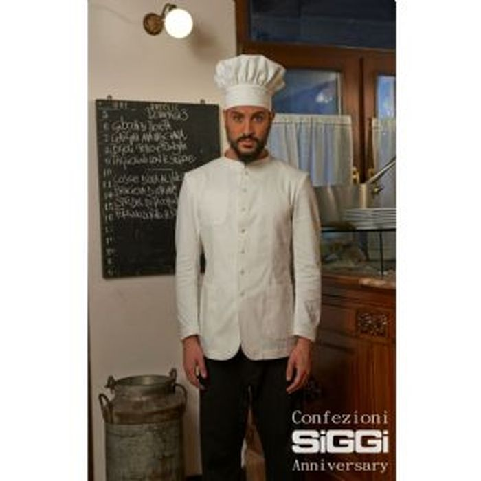 Chef Jacket with single breasted