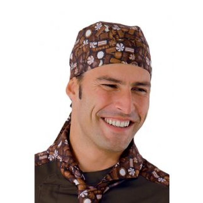 Bandana cuoco Chocolate