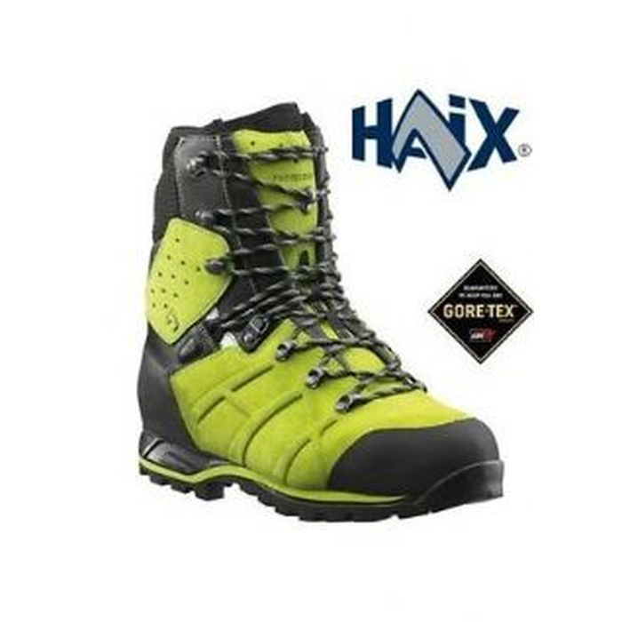 HAIX Protector Ultra Lime Green Antitaglio Gore-tex